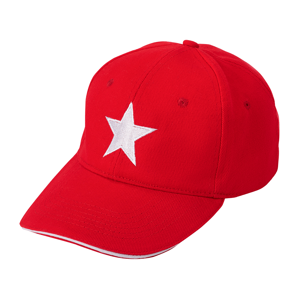 klasyczne dopasowanie Najlepsze miejsce Los Angeles czapka z daszkiem czerwona gwiazda