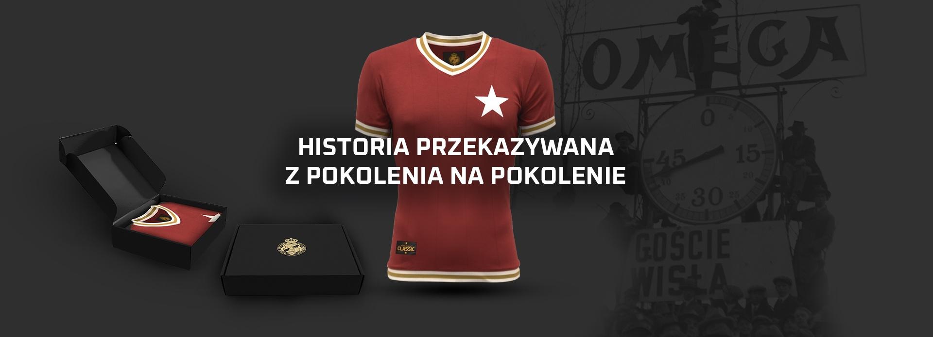 Oficjalny sklep internetowy klubu Wisła Kraków S.A.